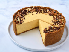 No-Bake Pumpkin Mousse Cheesecake