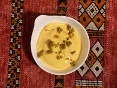 Mango Shrikhand with Pistachio Crumble
