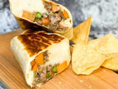 Shepherd's Pie Burritos