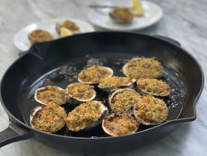 Roasted Clams Casino