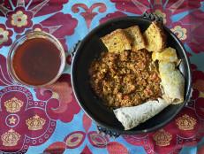 Beef Kitfo with Awase
