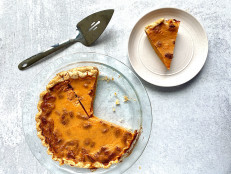 Sweet Potato Pie with Pecans