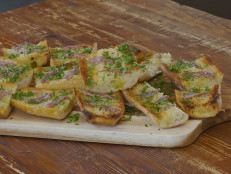 Anchovy and Garlic Toast