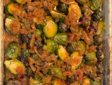 Brussels Sprouts with Apple Cider Dressing