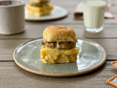 Make-Ahead Chicken Sausage Breakfast Sliders