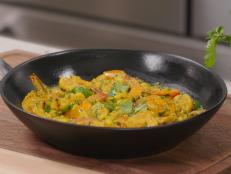 """""""Baked"""" Shrimp Curry"""