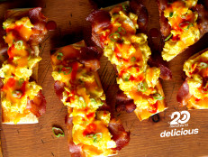 Breakfast French Bread Pizza