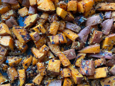 Skillet Sweet Potatoes with Coconut, Garlic and Chile