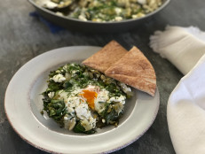 Spinach and Artichoke Shakshuka