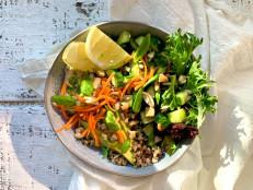 Meal Prep: Farro and Quinoa Veggie Bowls