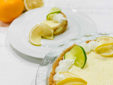 Citrus Icebox Pie