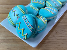 Easter Egg Macarons