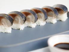 Masaba Oshizushi (Mackerel Sushi Rolls)