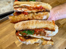 Chicken Parm Sandwiches