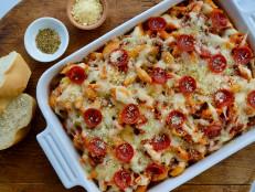 Pepperoni Pizza Pasta