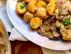 Dinner for Two: Chicken Diane with Crispy Baby Potatoes