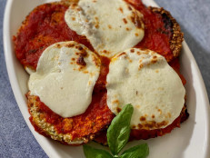 Air Fryer Eggplant Parm