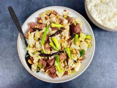 Spicy Stir-Fried Corned Beef and Cabbage