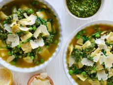 Spring Ravioli Soup (Sponsored)