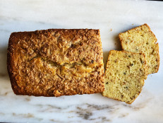 Coconut and Passion Fruit Pound Cake