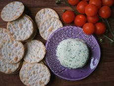 DIY Garlic Herb Cheese Wheels