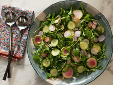 Spring Radish and Cucumber Salad