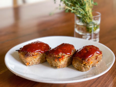 Mini Meatloaves with BBQ Glaze