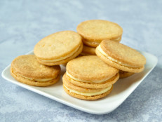 Citrus Sandwich Cookies