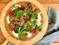 BLT Salad Pizza (Sponsored)