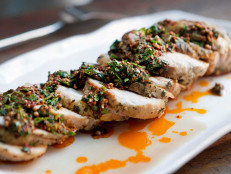 Roasted Pork Loin with Chermoula