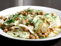 Shaved Fennel and Chickpea Salad