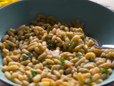 Naked Beans with Aromatics and Olive Oil