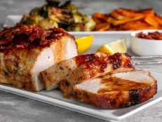 Roasted Maple Pork Loin with Vegetables