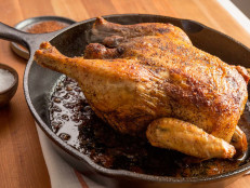 Sumac-Roasted Whole Chicken