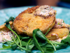 Fried Green Tomatoes with Remoulade