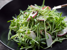 Snap Pea Salad With Parmesan Vinaigrette