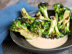 Charred Broccoli with Misonnaise