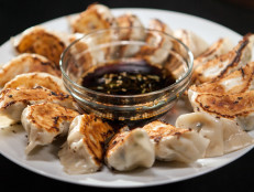 Pork and Garlic Chive Dumplings