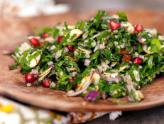 Pomegranate and Almond Tabbouleh