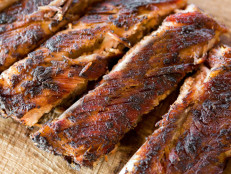 Smoked Spareribs