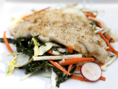 Flounder and Cole Slaw