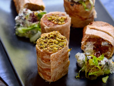 Beef and Pistachio Kebab Wraps