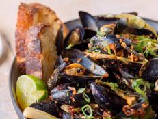 Mussels, XO Sauce