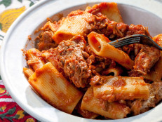 Rigatoni with Pork Ragu