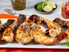 Grilled Lobster with Smoky Garlic Mojo de Ajo