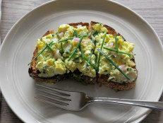 Egg Salad with Tarragon, Parsley, and Chives