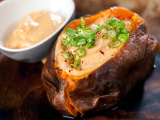 Baked Sweet Potato with Kalbi Butter