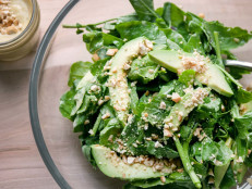 Arugula and Watercress with Curry Vinaigrette