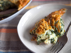 Spinach Goat Cheese Souffle