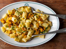Pasta with Roasted Kabocha Squash and Pecorino